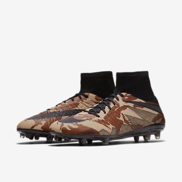 89237627f31f NIKE HYPERVENOM PHANTOM II SE FG Camo Soccer Shoes